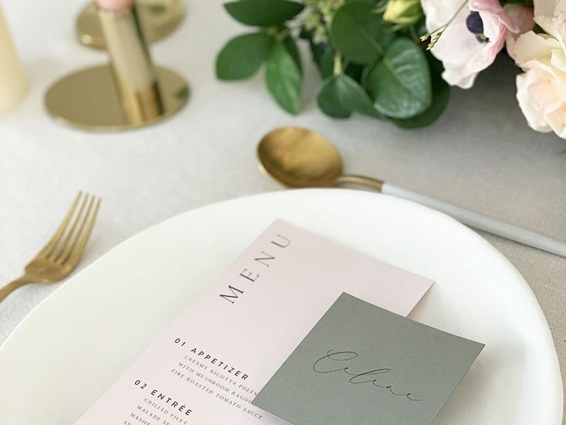 Celene-Modern-menu-place-card