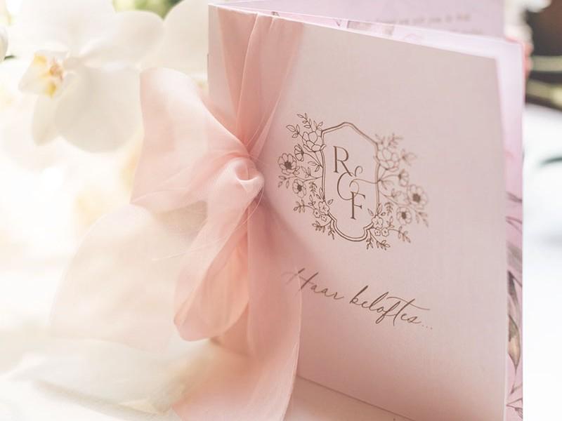 Ronel-Frederik-vow-booklet