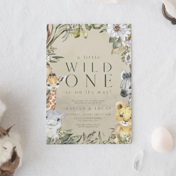 Wild-One-Babyshower-invitation