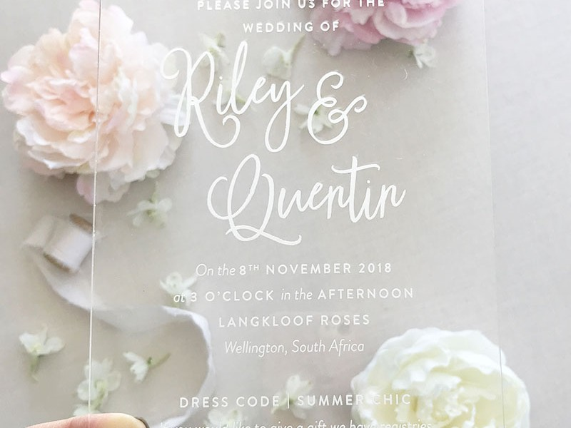 Acrylic-Wedding-Invitation