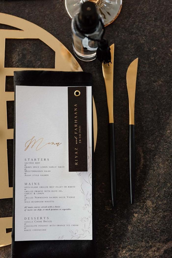 Riyaz and Farhaana menus 2