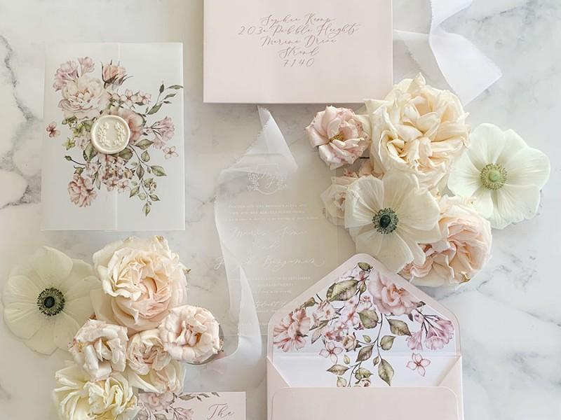 Rose-Belle-acrylic-invitation