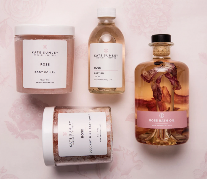 Kate Sunley luxury bath and body products